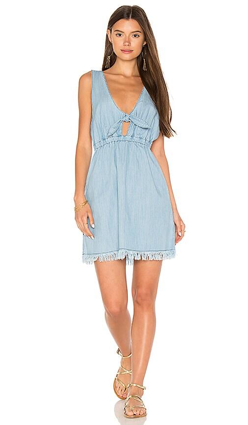 Somedays Lovin Sun Dreams Chambray Dress in Blue