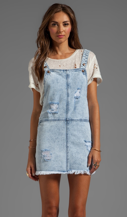 Camp Fire Overall Dress