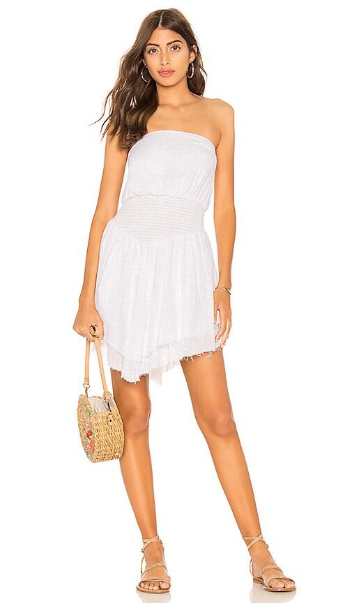 Somedays Lovin Lucid Dreaming Mini Dress in White