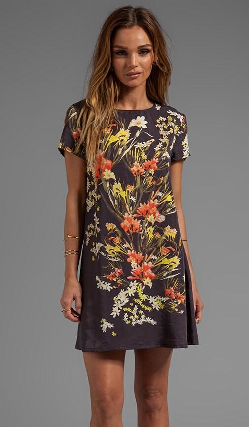 Botanic Print Tee Dress