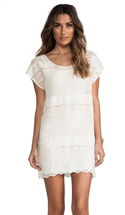Dimensions Lace Tee Dress
