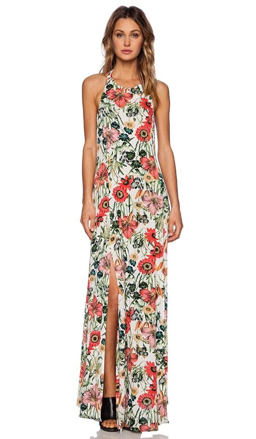 Bella Floral Split Maxi Dress