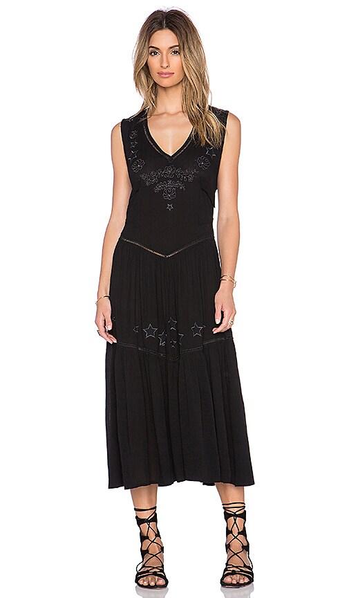 Somedays Lovin Get No Satisfaction Dress in Black