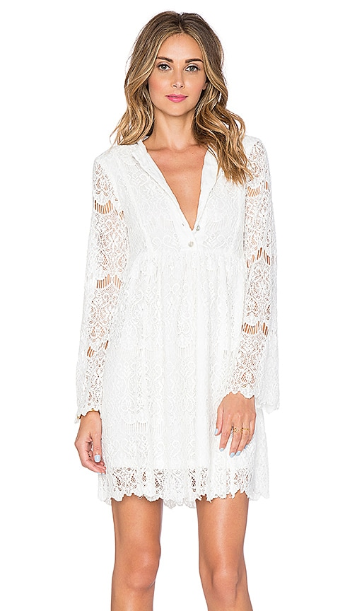 Somedays Lovin Runaway Lace Dress in White