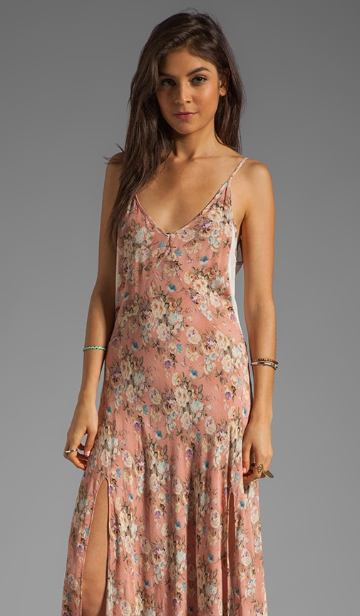 Day Dream Maxi Split Low Back Dress