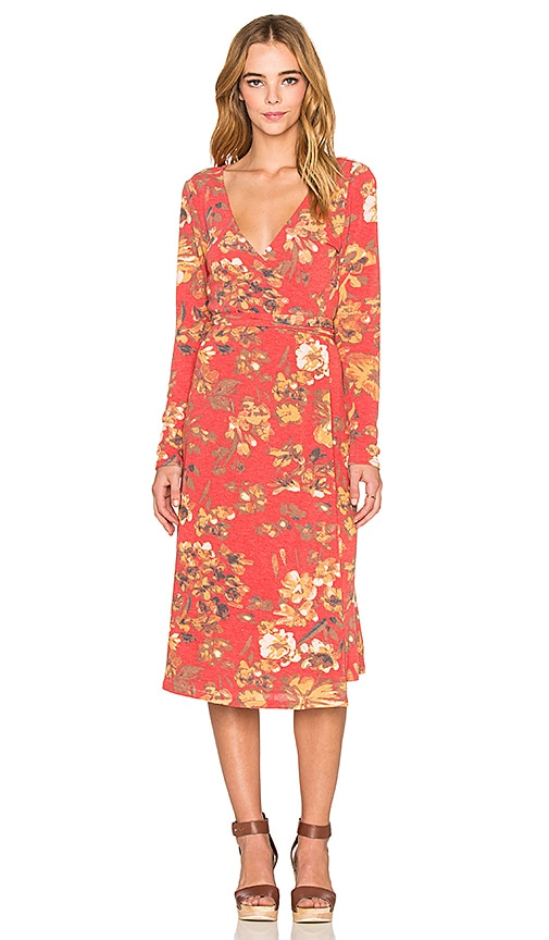 Somedays Lovin Neha Wrap Dress in Multi
