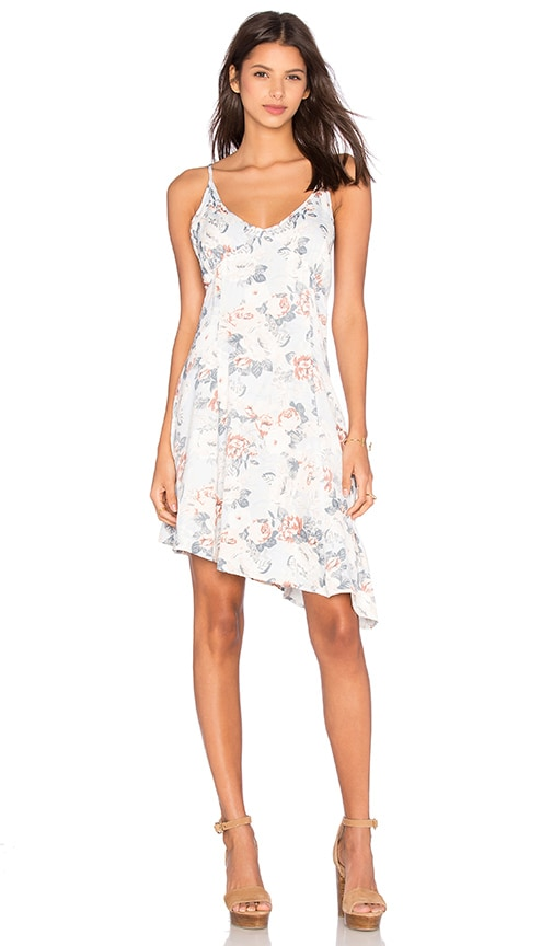 Somedays Lovin Sundown Floral Slip Dress in Blue