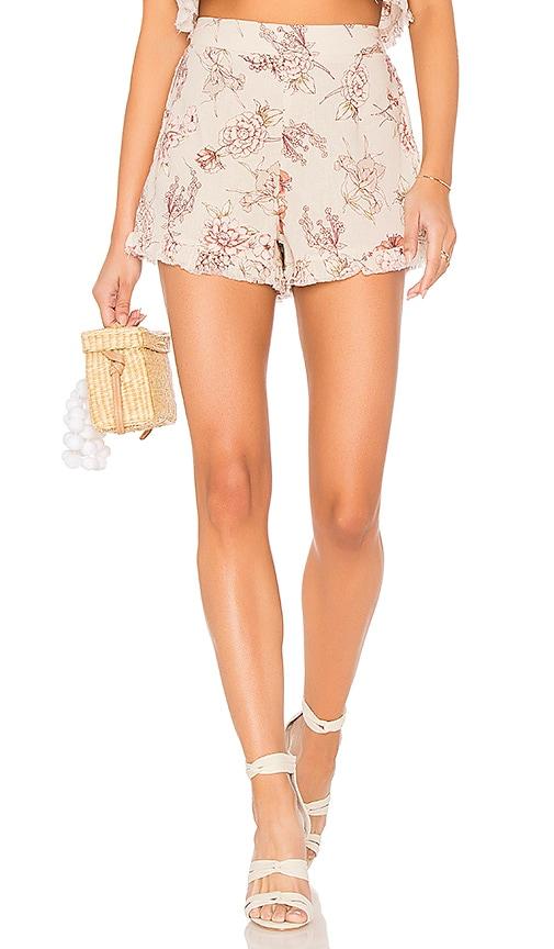 Somedays Lovin Golden Sky Shorts in Ivory