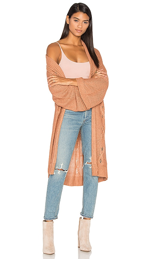 Somedays Lovin Patti Cardigan in Blush