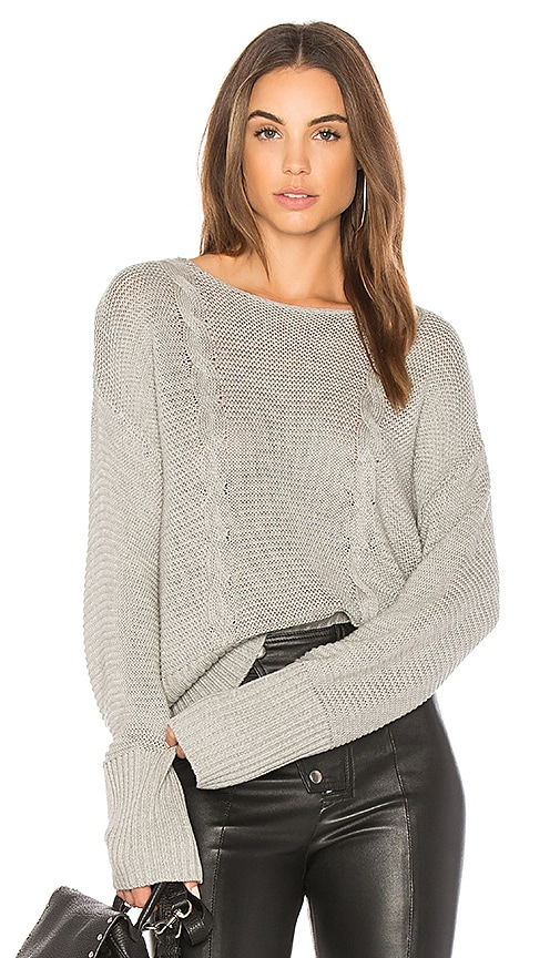 Somedays Lovin Sweet Soul Sweater in Gray