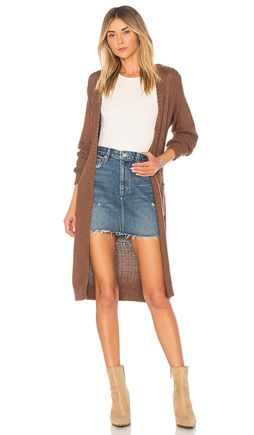 Somedays Lovin Sweet Soul Cardigan in Brown