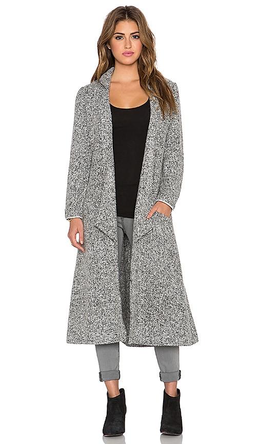 Shrubs Wool Duster Coat