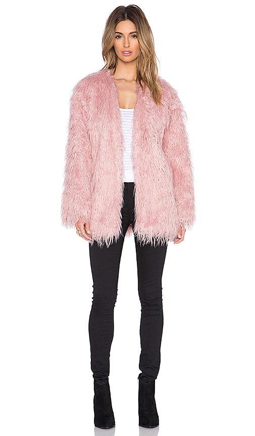 Sacred Faux Fur Coat