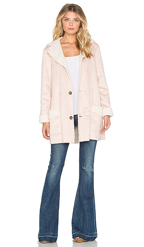 Somedays Lovin Sunny Afternoon Coat in Blush