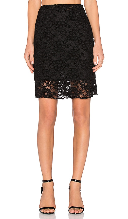 Lucid Lace Midi Skirt