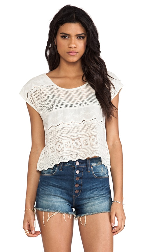 Dimensions Lace Tee