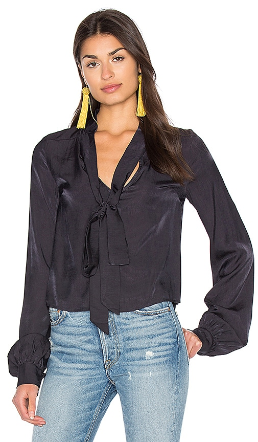 Somedays Lovin Midnight Hour Blouse in Black