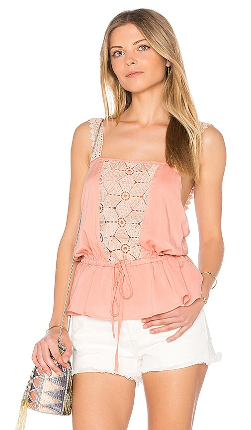 Somedays Lovin Sun Beams and Daydreams Top in Pink
