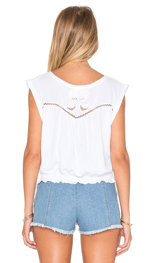 Lagoon Cutwork Top in White Somedays Lovin Explore Cheap Price 00gWpskQ