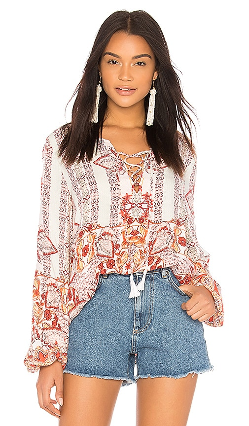 Somedays Lovin Sun Drenched Blouse in Pink
