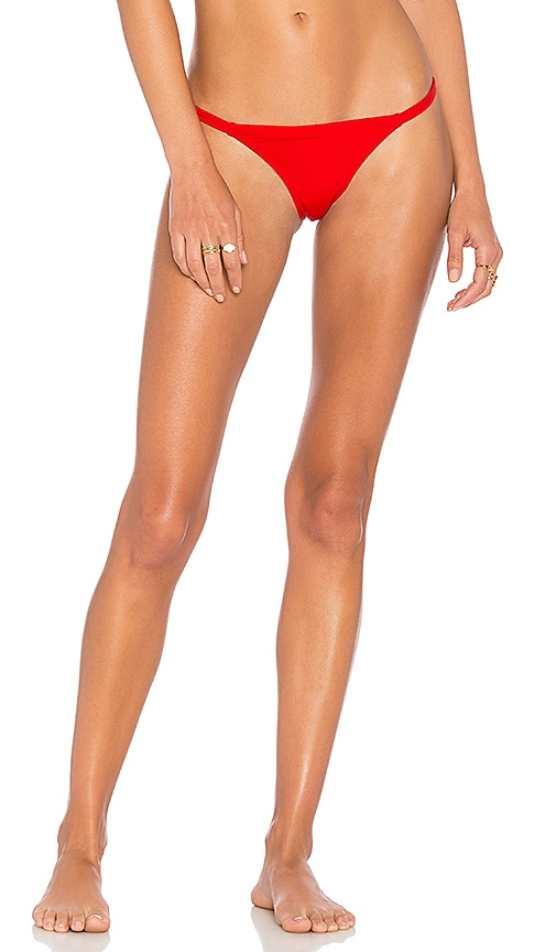 Solid & Striped The Mia Bottom in Red