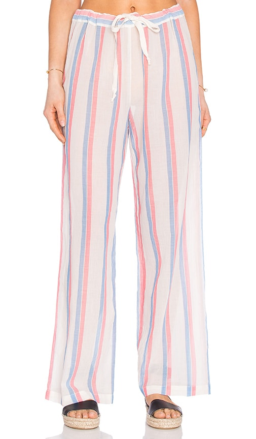 Solid & Striped The Drawcord Pant in Red