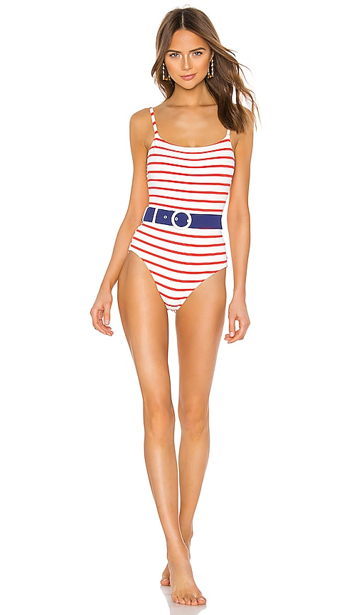 Nina Belted One Piece