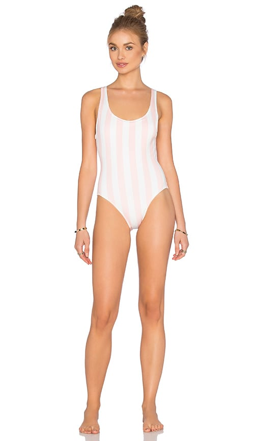 a42cce6441b6f Solid & Striped The Anne Marie One Piece in Petal Pink Cream Stripe ...