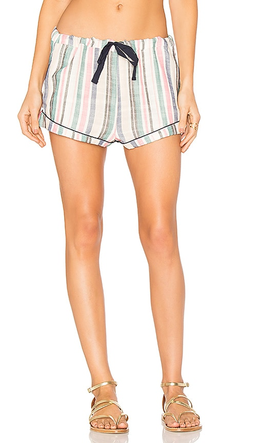 Solid & Striped The Tracey Piped Short in Blue