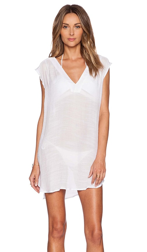 Salt Swimwear Alexa Tunic in White