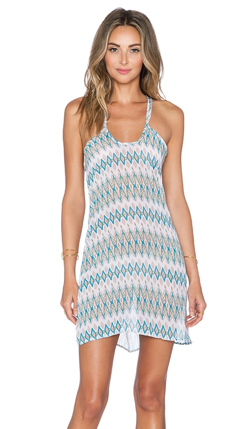Salt Swimwear Tala Dress in Mint