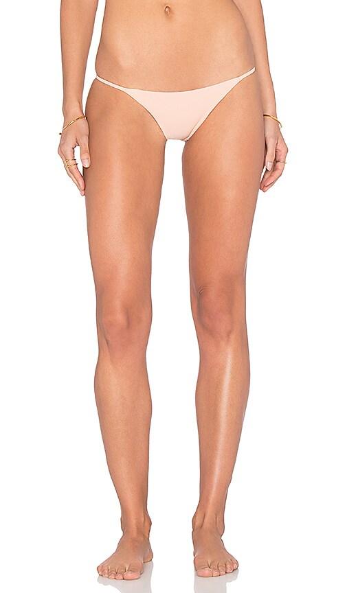 Salt Swimwear Callie Bikini Bottom in Blush