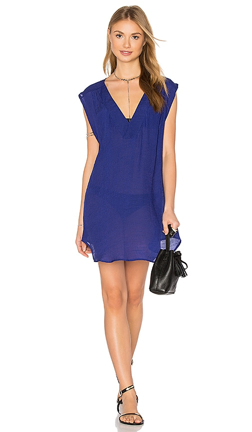 Salt Swimwear Alexa Tunic in Blue