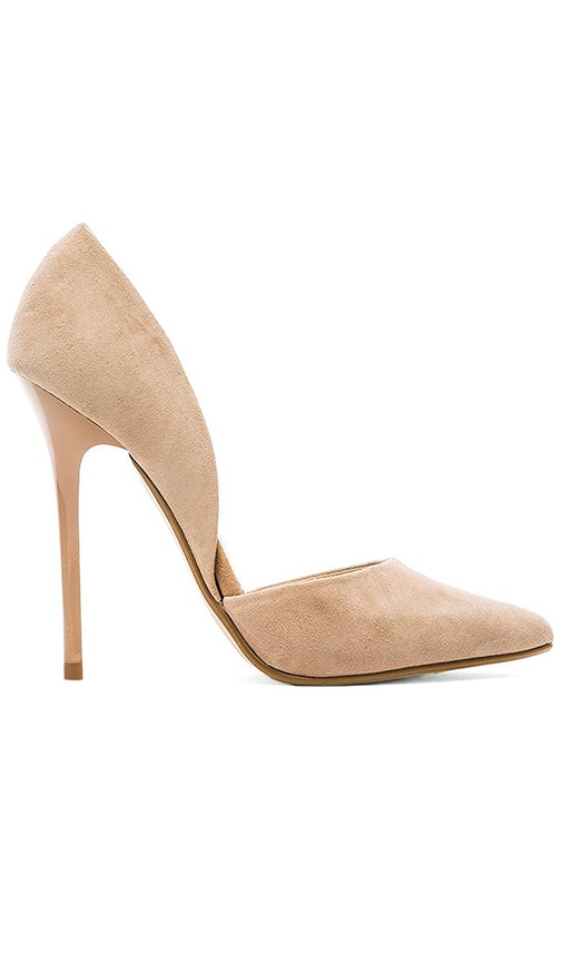 7a625031bc5 Steve Madden Varcityy Heel in Blush Suede
