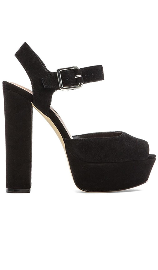 2d9a4b165bb Steve Madden Jilly Heel in Black Suede