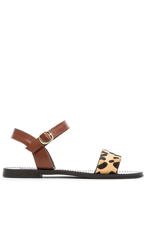 Dondi Cow Hair Sandal