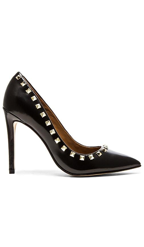 Steve Madden Proto S Heel in Black & Gold