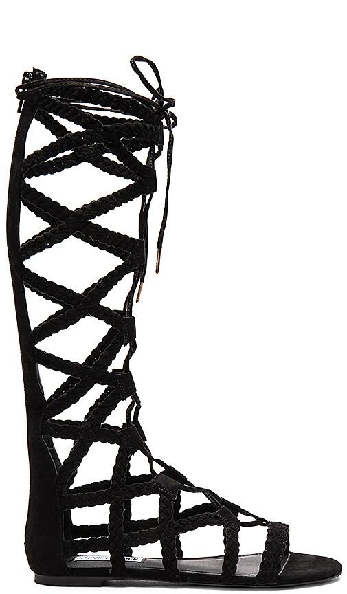 Steve Madden Sammson Sandal in Black
