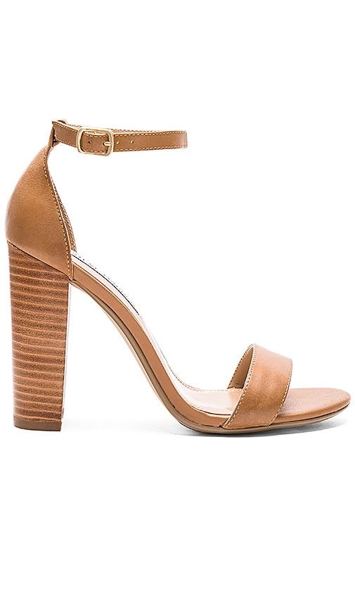 3257254f0a29 Steve Madden Carrson Heel in Tan Leather   REVOLVE