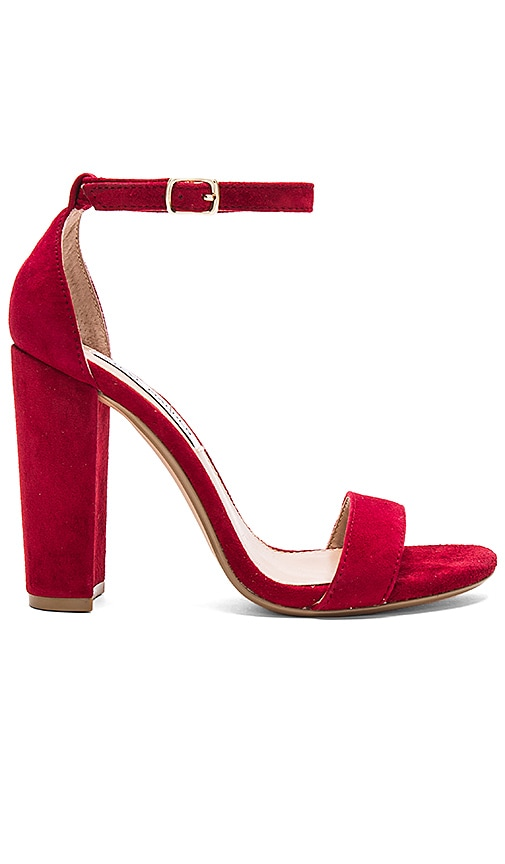 Steve Madden Carrson Heel in Red