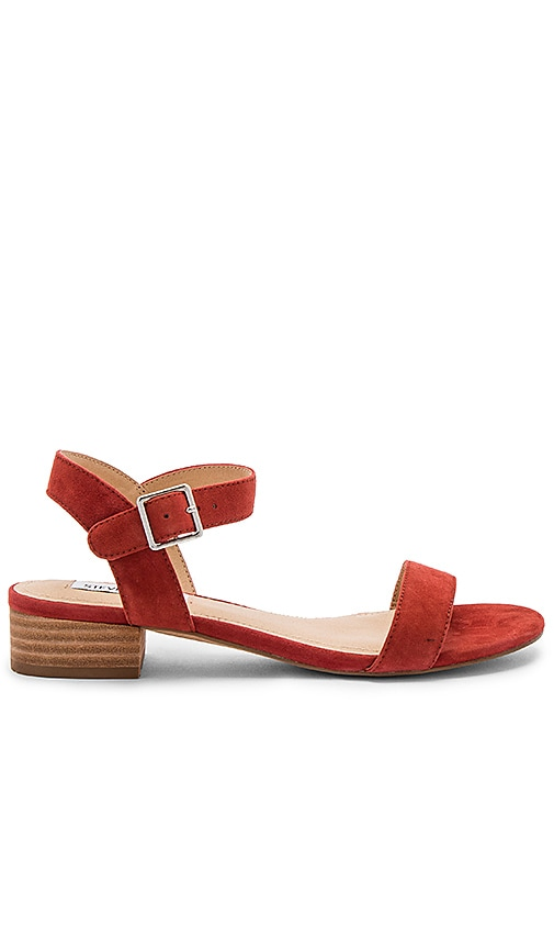 Steve Madden Cache Sandals in Rust
