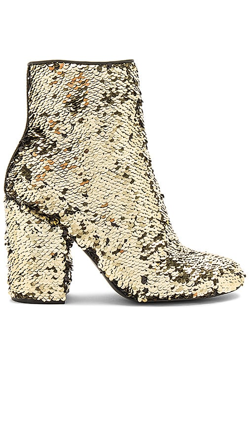 Steve Madden Georgia Bootie in Metallic Gold