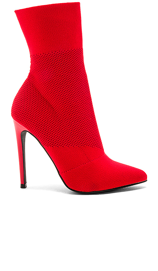 Steve Madden Century Boot in Red