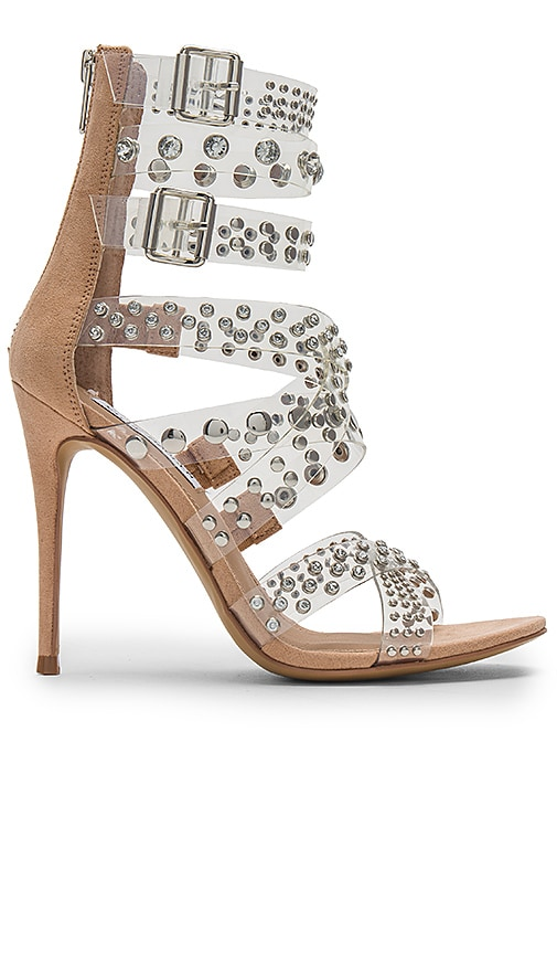 Steve MaddenMOTO - High heeled sandals - clear