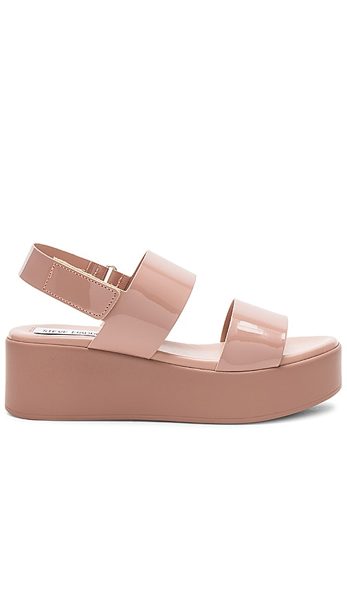 Rachel Platform Sandal in Blush. - size 9 (also in 10,6) Steve Madden