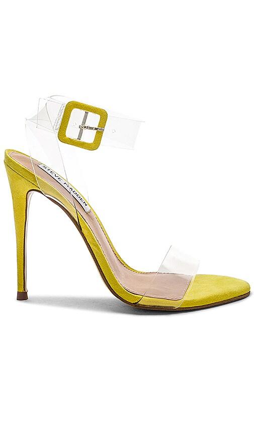 Steve Madden Seeme Sandal in Yellow