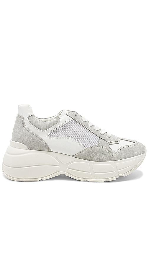 Steve Madden Memory Sneaker in White