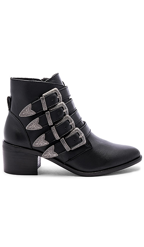 209b68600cb Steve Madden Billey Bootie in Black Leather