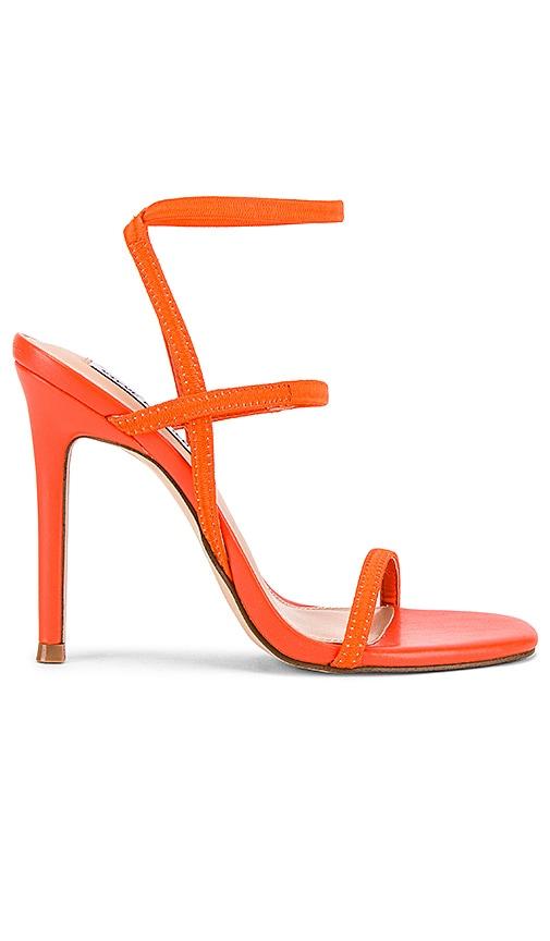 Orange Strappy Heels
