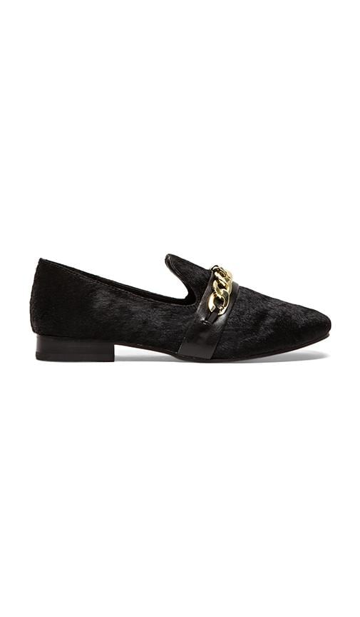 Changig Loafer with Calf Fur